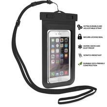 100% Sealed Waterproof Mobile phone Case Pouch Phone Case for iPhone 7 6 6s Plus Mobile Phone