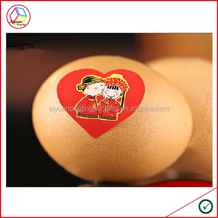 High Quality Egg Shell Stickers