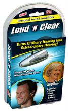 DIHAO Loud N clear PERSONAL SOUND AMPLIFIER COMFERTABELY FITS EITHER EAR GREAT FOR ALL AGES & GENDER CAPTUR