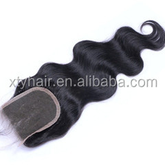 "Alibaba express factory direct cheap price 4""x4"" remy body wave 16"" virgin brazilian hair lace closure, <strong>U</strong> part lace clousre"