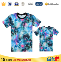 Teenage clothing Most Popular Logo Printed 100 polyester t shirts one direction floral animal 3d printed t-shirt