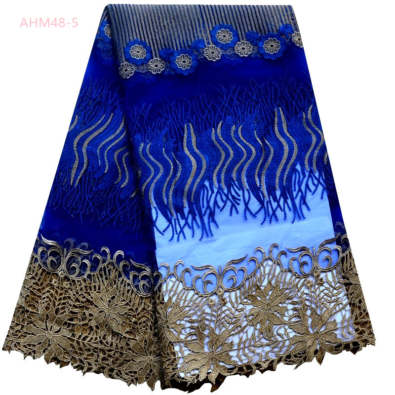 Fashion cheap custom colorful net lace fabric in Dubai Latest deisgn Beaded african embroidery net wedding lace fabric for lady