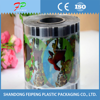 PET/CPP bubble tea packing film/cup sealing film