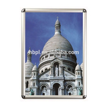 A1 customized picture frames photo frames aluminum clip clap frame