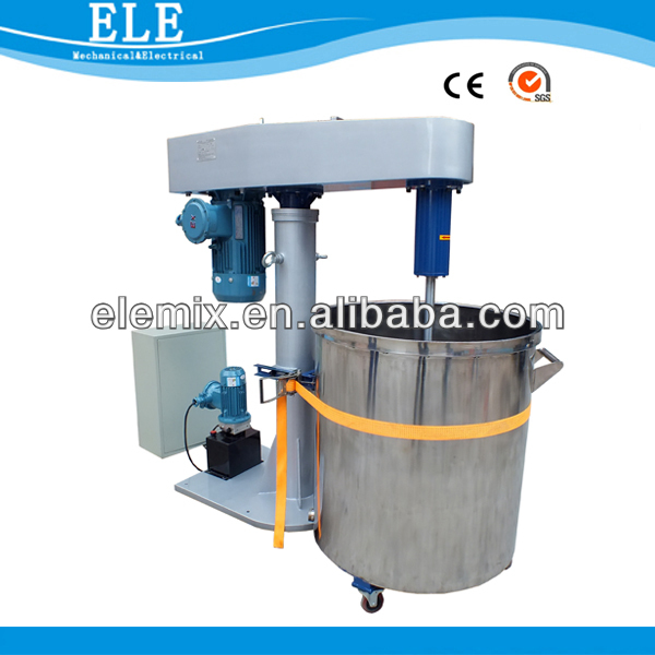 House and accomodation paint/silicone sealant dispersing mixing blender machine
