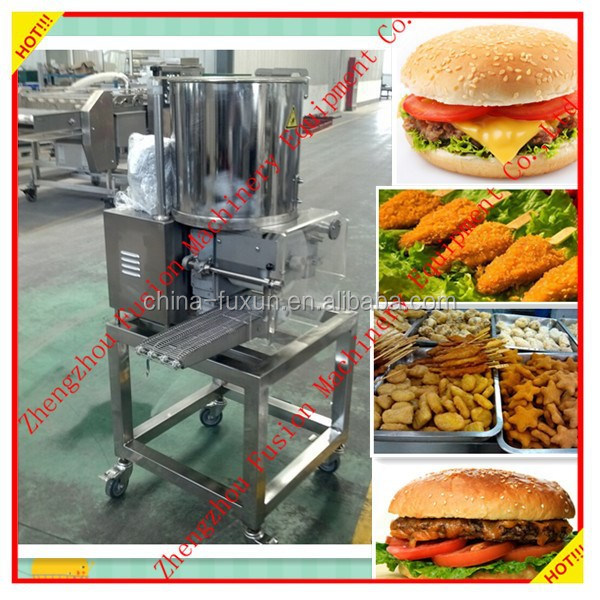 BEST SELLING machine for making hamburger/chicken nugget machine