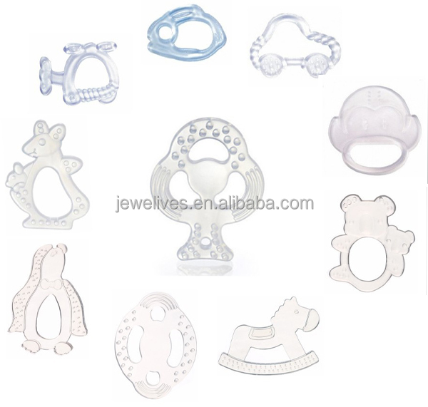 Healthy silicone teether for baby