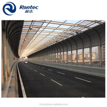 acoustical board sound barrier for highway