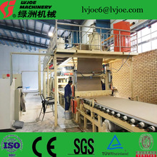 building material gypsum board /sheetrock making machine/manufacturing plant