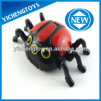 Novelty toys magnetic electric worm climb wall spider toy