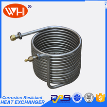 heat exchanger ss coil pipe, heat exchanger u tube, cooling coils condenser stainless