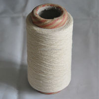Cotton Polyester Blend Dyed Shoelace Yarn