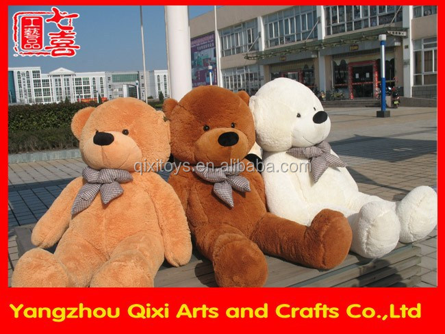 Hot sale big teddy bear plush bear toy for 200cm giant teddy bear