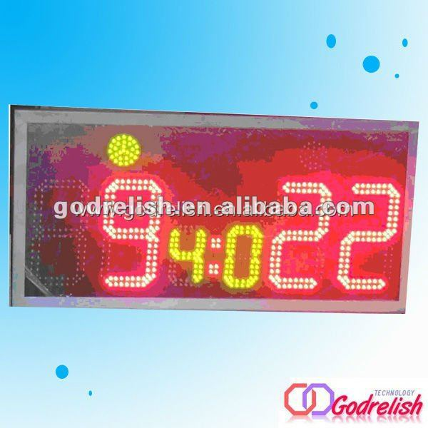 Professional battery powered led message board with CE ROHS UL