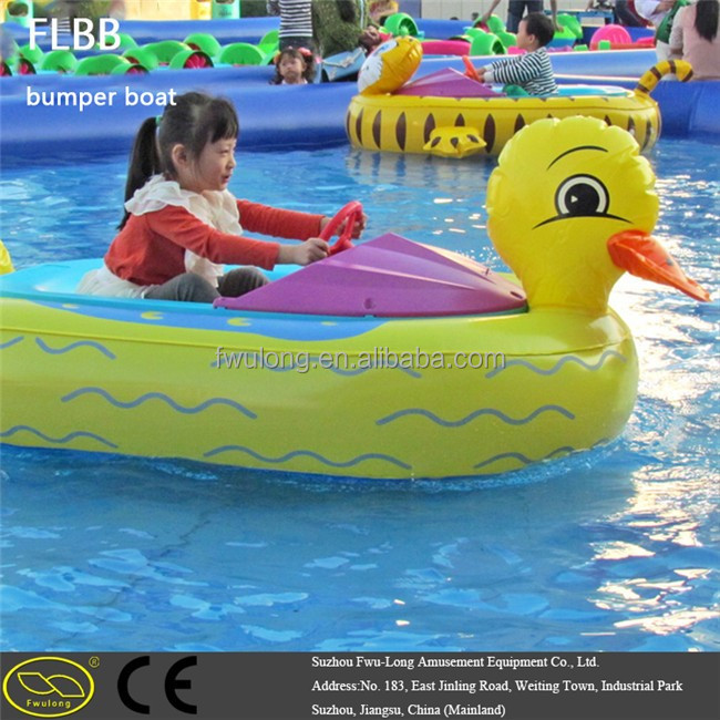 Entertainment donut boat with electric motor, Water Bumper Boat, New Water Donut Bbq Boat bumper boat tubes