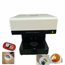 New design quick print Latte Art Foam milked food coffee Printer, selfie coffee printer machine