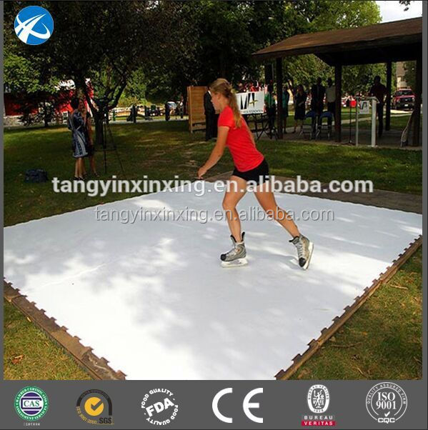 uhmwpe ice hockey/uhmw synthetic ice rink/hdpe artificial ice rink