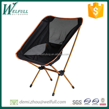 Ultralight Antique Square moon folding chair made with high aluminum