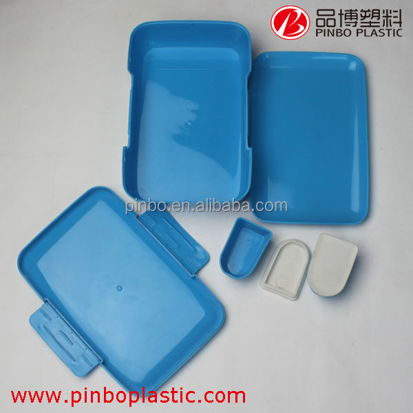 BPA Free food grade biodegradable lunch box,plastic hot lunch boxs bento