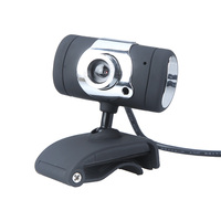 USB 2.0 50.0M HD Webcam Web Camera Cam Digital Video Webcamera with Mic Clip CMOS Image for Computer PC Laptop Android TV/TV Box
