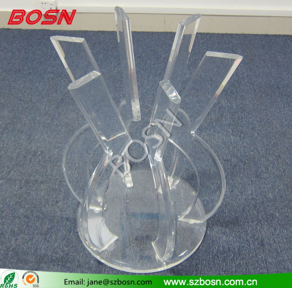 Transparent acrylic round coffee table /dinning table,perspex furniture