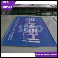 Dye-sublimation printing fabric banner washable banner