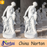 European design nude woman stone marble sculpture NTMS0827A