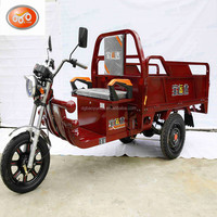 strong power electric cargo tricycle/3 wheel adults cargo tricycle for sales