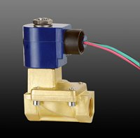 low power Gas solenoid valves