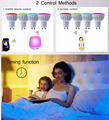 2.4G 4W GU10 RGB+CCT Color Changing Dimmable LED Spotlight