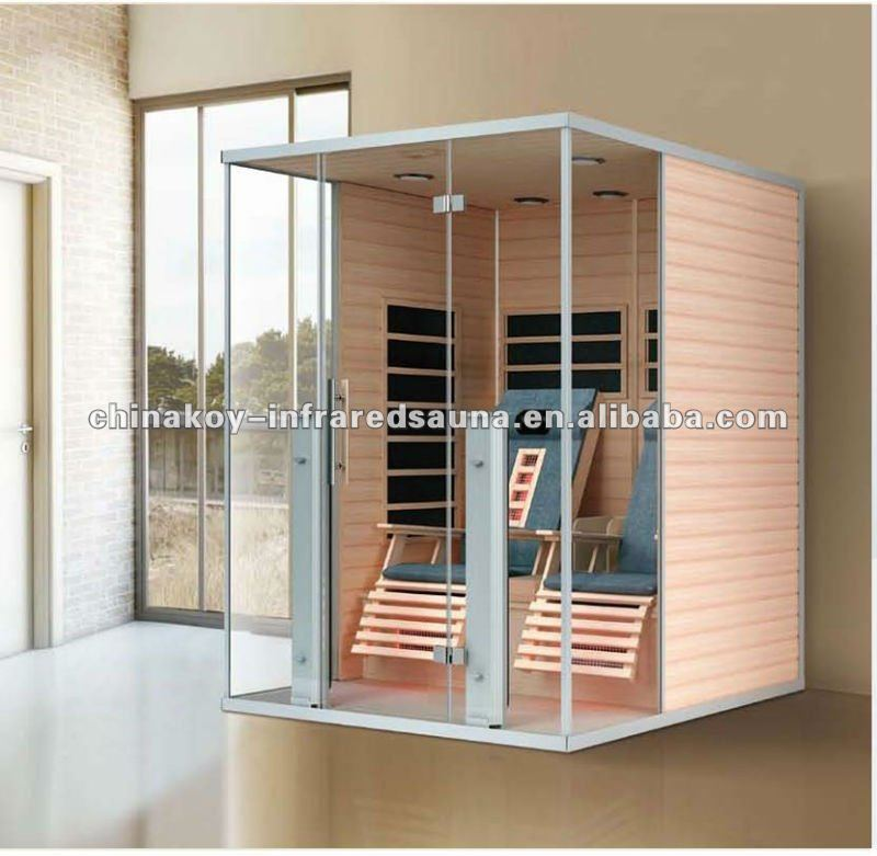 2016 new design infrared sauna unit with massage