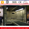 Oil tank truck air blasting room dustless scraper type sand blasting chamber