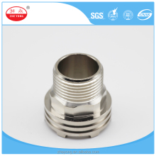 screw pipe fitting/din standard pipe fitting/copper pipe nipple fitting(External thread )
