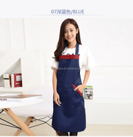 good quality coffee shop custom cooking apron kitchen apron