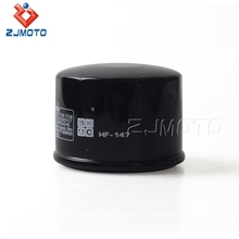 High Performance Motorcycle Oil Filter HF-147 For Yamaha Kymco ATV Scooter Motorcycle