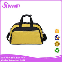Durable polyester handle travel bag customized leisure bag