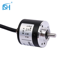 Elevator Electronics Solid Shaft industrial rotary encoder for automatic measurement