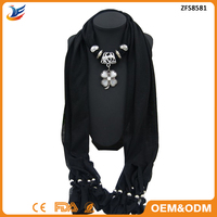 wholesale Cross Charm Pendant Jewelry Necklace Scarf