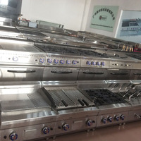 Commercial Stainless Steel Hotel Restaurant Kitchen