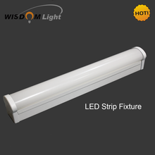 DLC premium listed Linkable shop lights 2ft 4ft 8ft LED Linear Strip Light Fixture