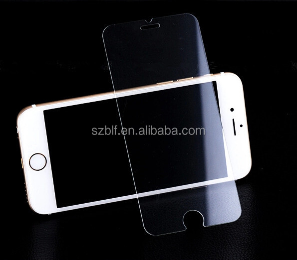 New design full cover tempered glass screen protector for iphone 6/iphone 6 plus