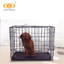 2018 new design small pet cage welded wire mesh dog cage