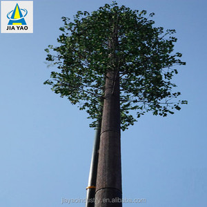 hot dip galvanization tapered camouflaged tree monopole tower company