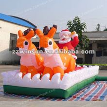 new design Commercial inflatable Santa Clause