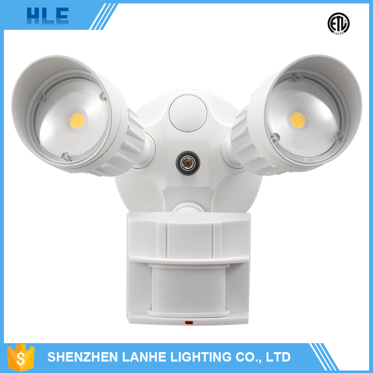 factory price wholesale motion sensor 20w outdoor led security lamp with photocell