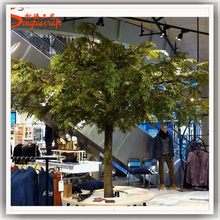 Latest design fiberglass 3meter artificial plastic decorative tree live ficus trees for sale