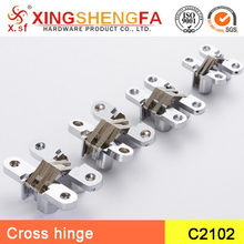 Furniture wooden Cabinet hinge concealed hinges 180 degree cross hinge