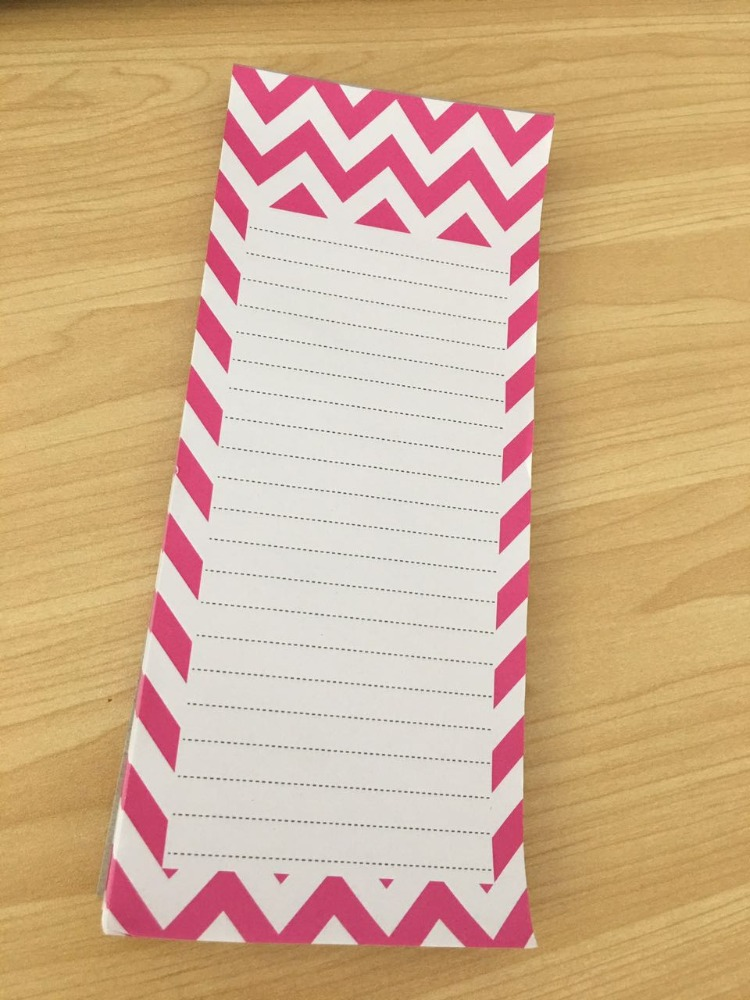 Cheaper Writing paper with magnet / Memo Pads/Notepad