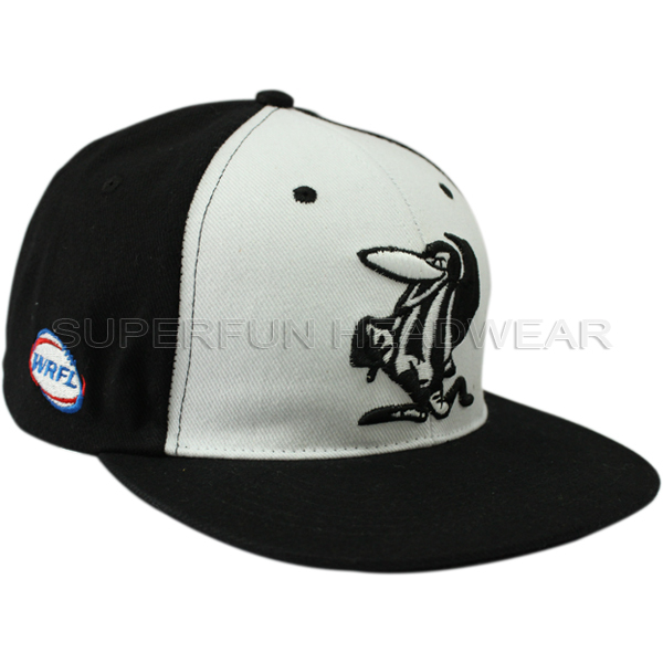 sports 3d embroidered adult snapback cap