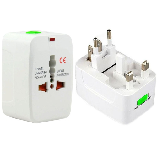 Wholesale Multifunctional Plug Adapter, Universal EU US UK AU Travel AC Power Adaptor Plug